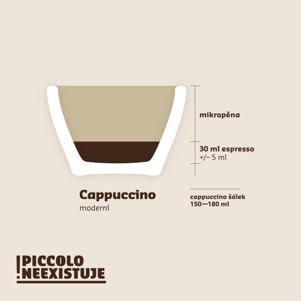 Cappucino moderní návod