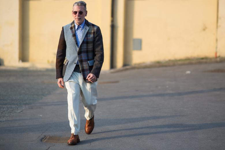 Na věku nezáleží. Pánská stylová móda na Pitti. Zdroj: hypebeast.com