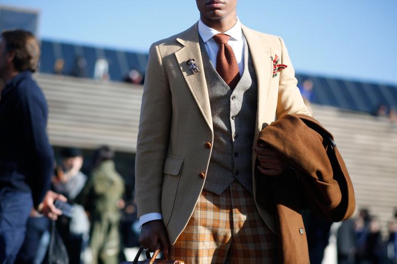 Pánská stylová móda na Pitti. Zdroj: hypebeast.com