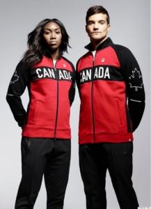 Kolekce Kanady pro RIO. Zdroj: Olympic.ca