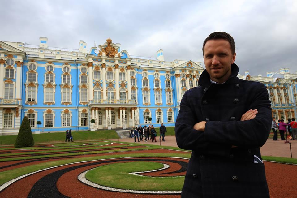 Kateřinský palác - Petrohrad