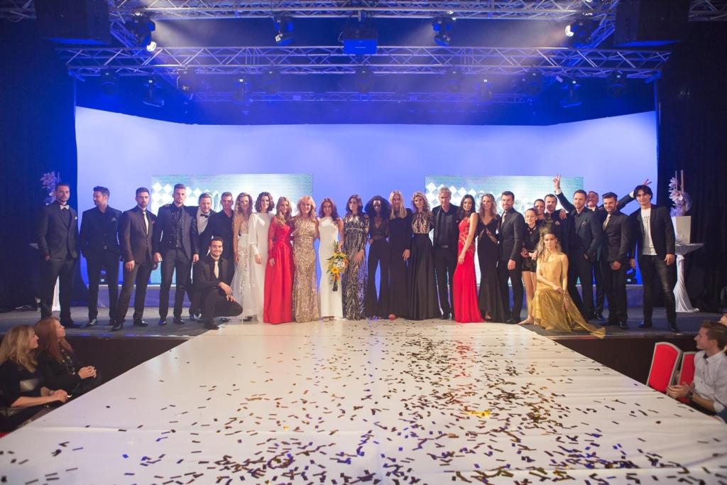 Giorgio fashion show Gold