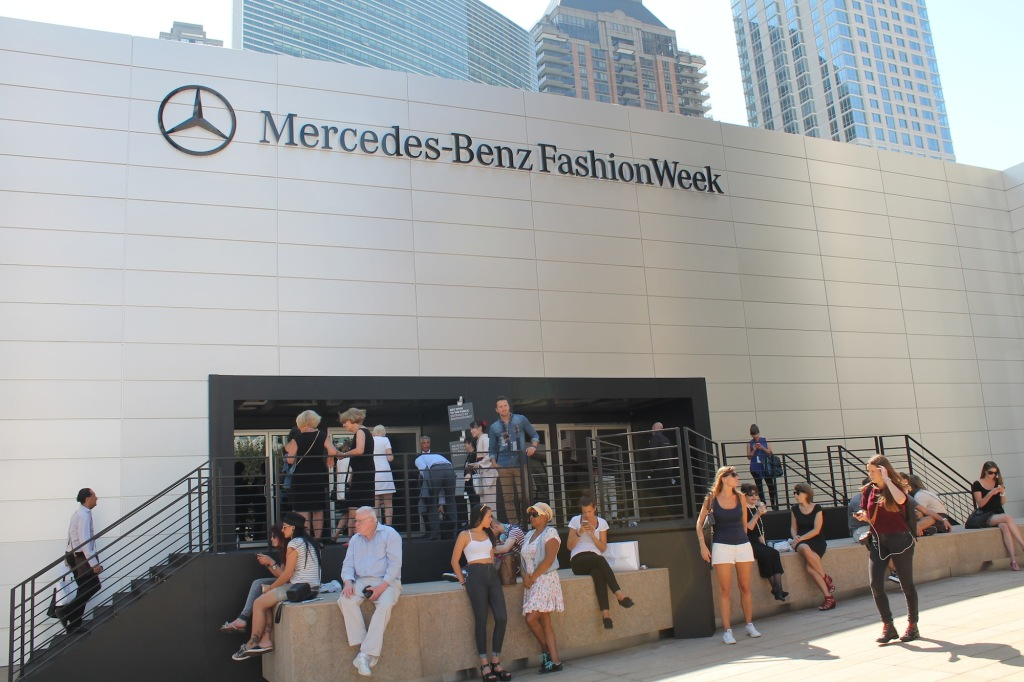 Já na New York Fashion Week