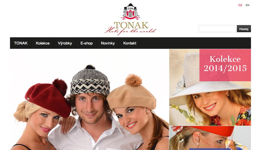 Minulá kampaň klobouků Tonak