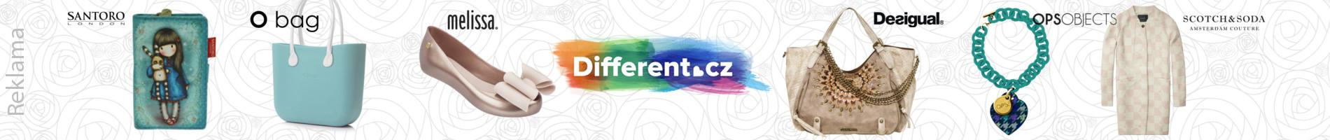 Different.cz - nejoblíbenější český módní e-shop