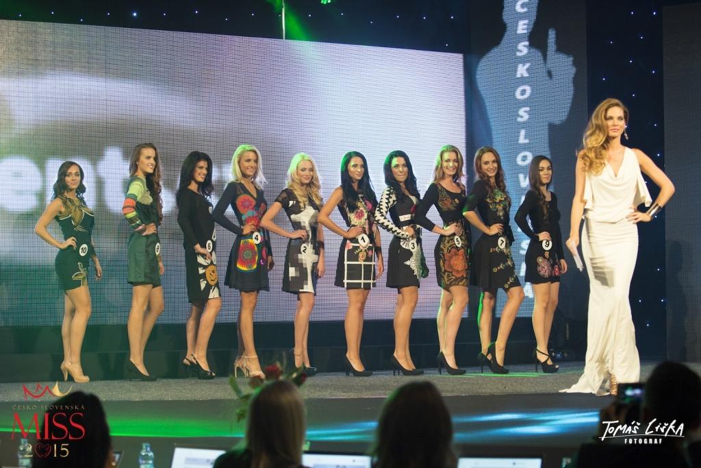 Česko-Slovenská MISS a finalistky v šatech Desigual