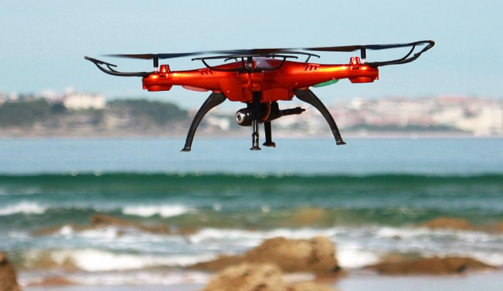 Dron na blbnutí